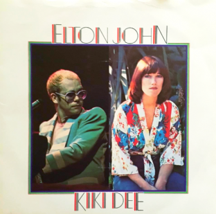 "Elton John & Kiki Dee ‎- Don't Go Breaking My Heart (7"") (VG+/VG-)"
